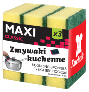 Scourers maxi classic 3 pcs